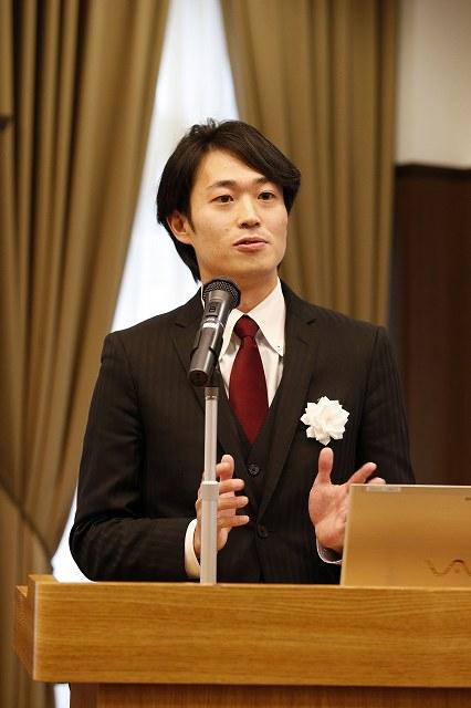 2017年1月20日受賞式 牛山代表