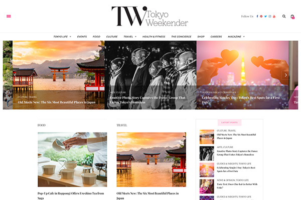 Tokyo Weekender公式サイトをリニューアルしました!